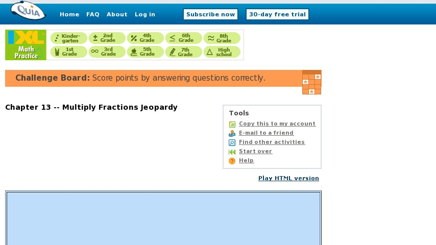 quia problem solving jeopardy
