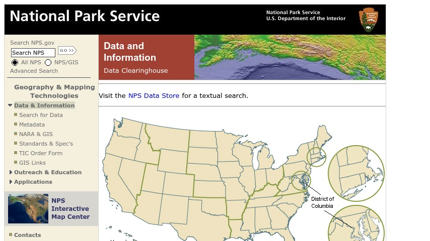 National Park Service: Data and Information | Curriki
