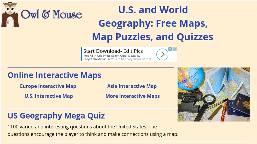 Maps That Teach: US and World Geography | Curriki