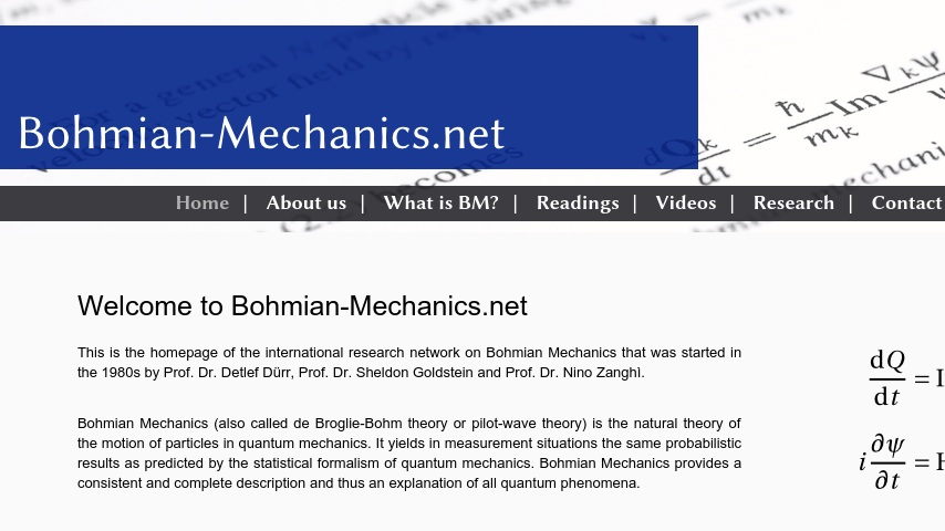 Collaboration Bohmian Mechanics   Curriki