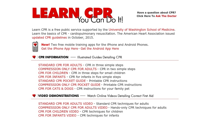 picture relating to Printable Pocket First Aid Guide named Understand CPR: Yourself Can Do It! Curriki