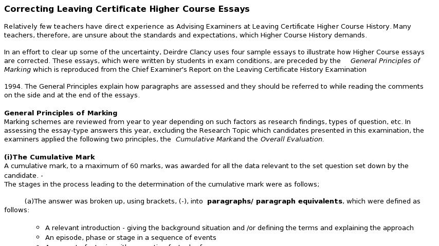 Genetically Modified Food Essay Thesis Httptestscoilnetieresmaryodubhainhtml General Paper Essay also Obesity Essay Thesis Correcting Lc Essay Questions   Curriki Sample High School Essay