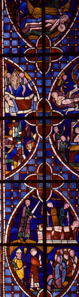 Window with the Life of St. Vincent