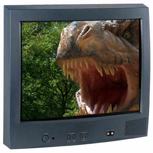 Sample Project (T-Rex on TV)