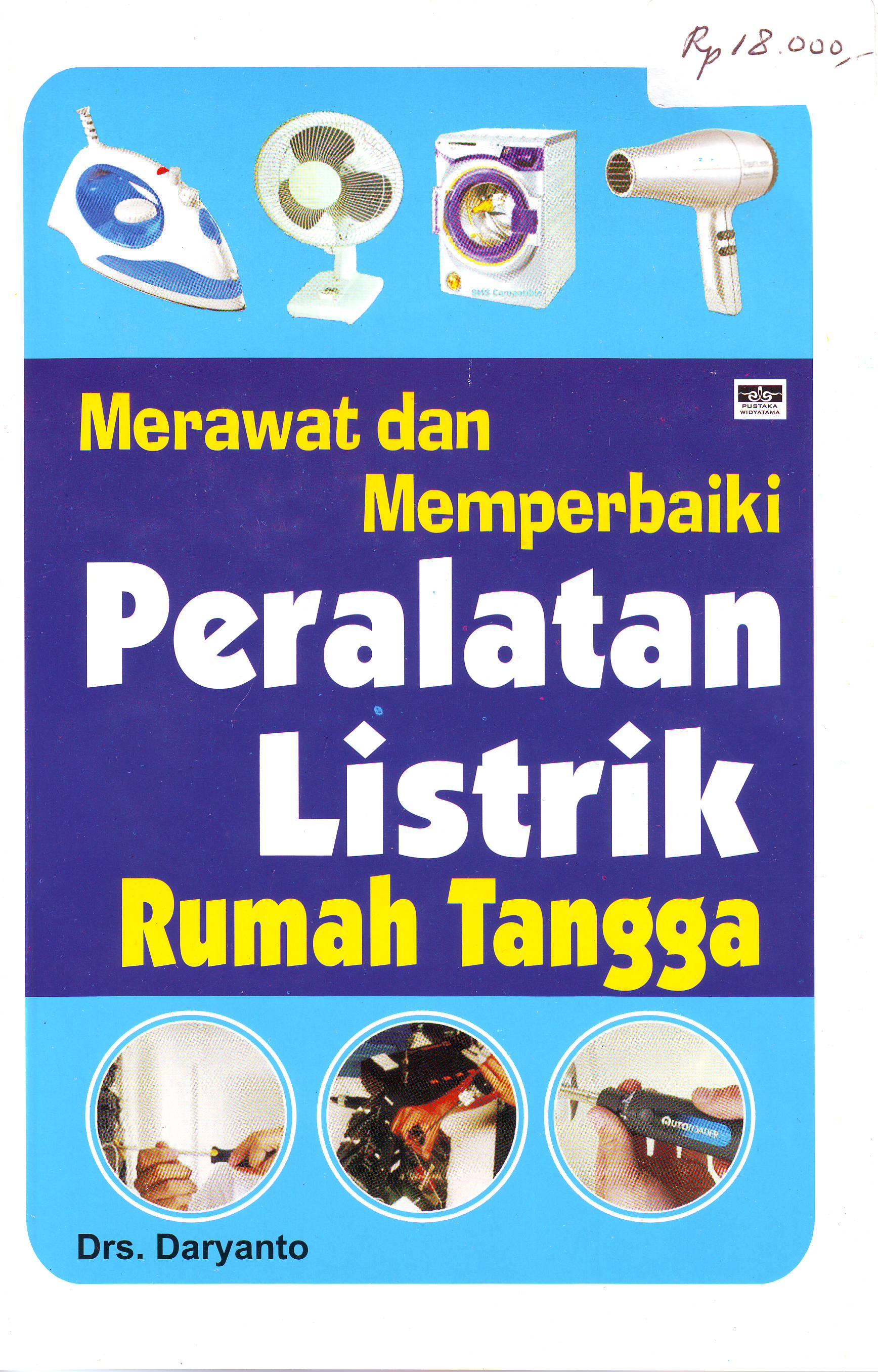 buku perawatan alat listrik rumah tangga