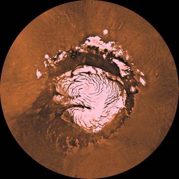 Mars' Ice Cap