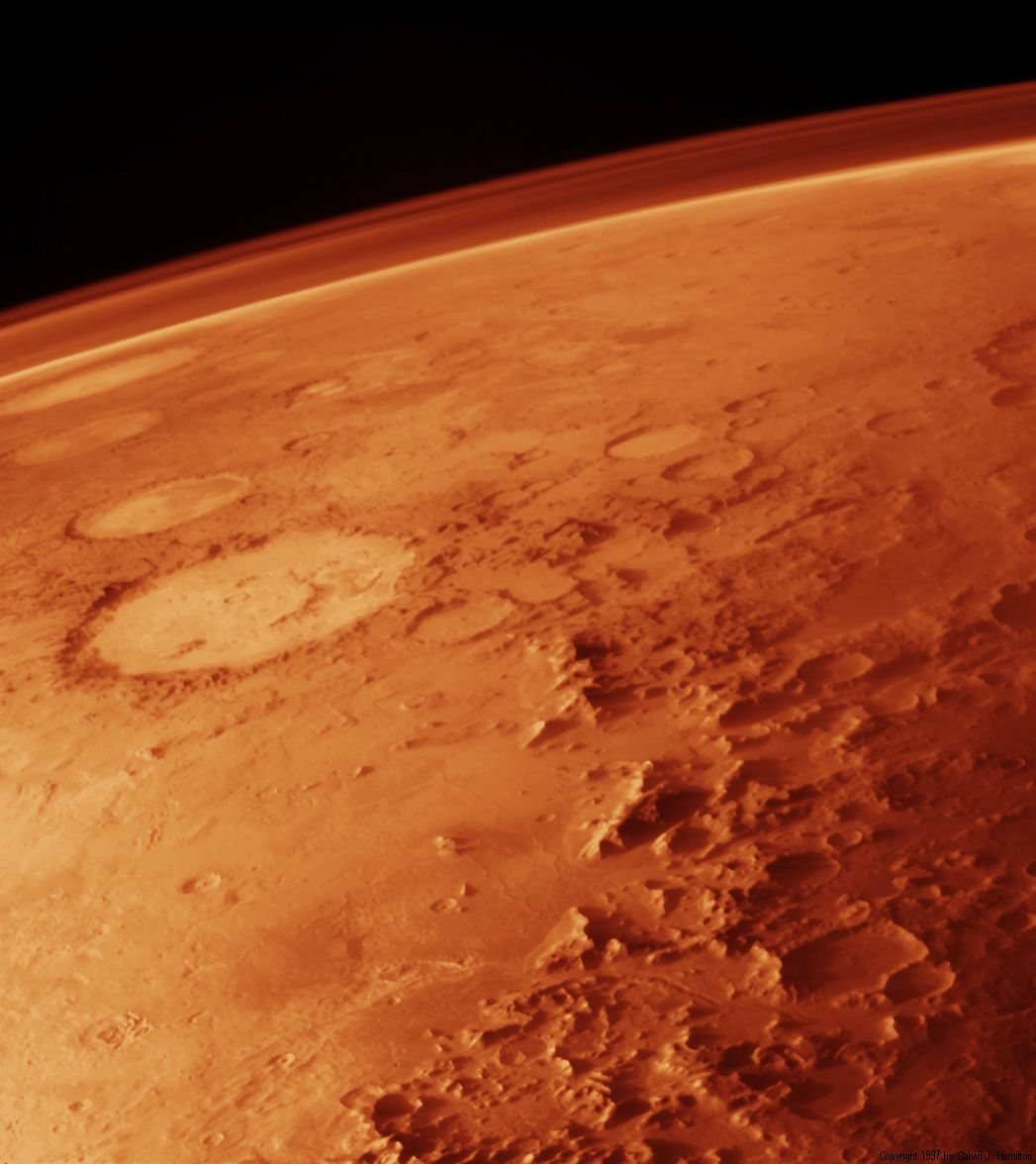 Mars' Thin Atmosphere