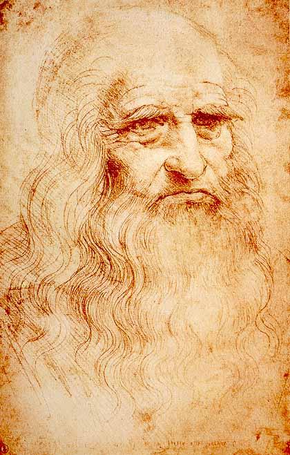 Self Portrait of Leonardo da Vinci