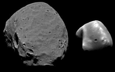 Mars' Moons
