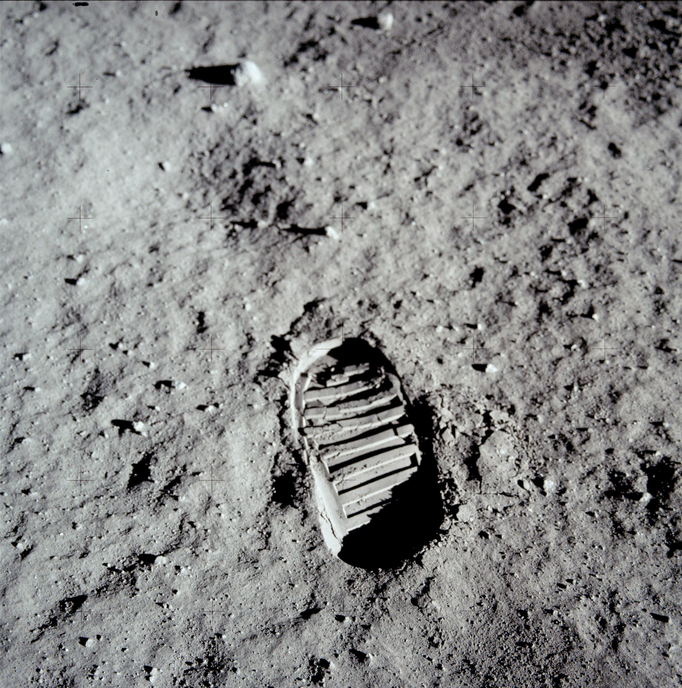 Buzz Aldrin's Bootprint