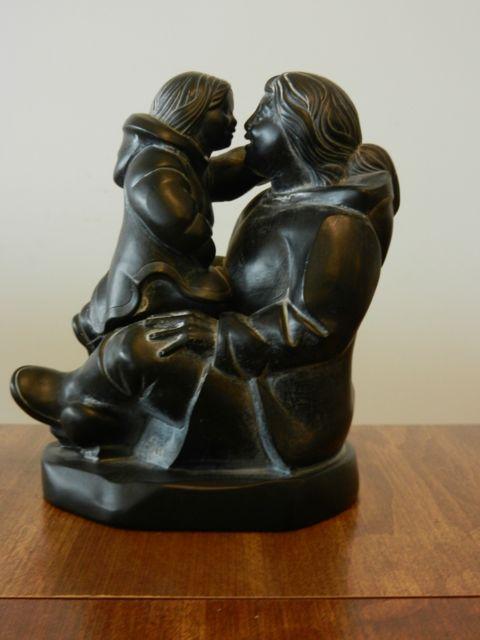 statue: non-symmetrical