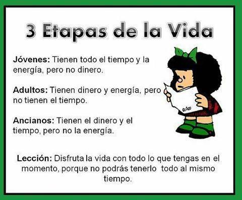 Mafalda- Etapas de Vida