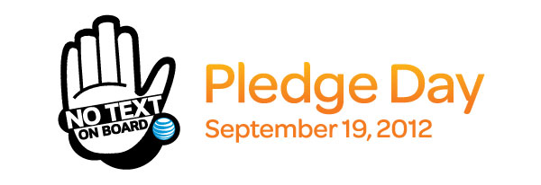 NO TEXT ON BOARD Pledge Day