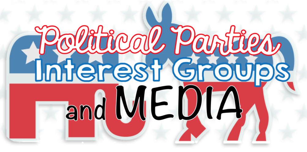 a political party differs from an interest group in that